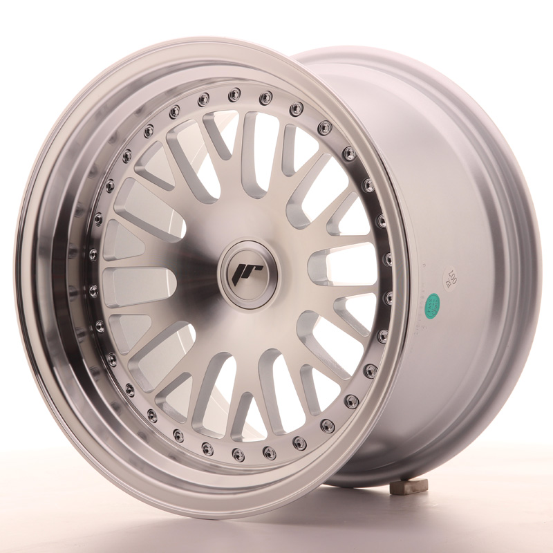 Japan Racing JR10 16x9 ET10-20 Blank Machined Sil