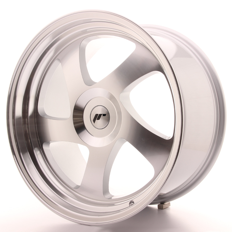 Japan Racing JR15 19x10 ET35 Blank Silver Machi