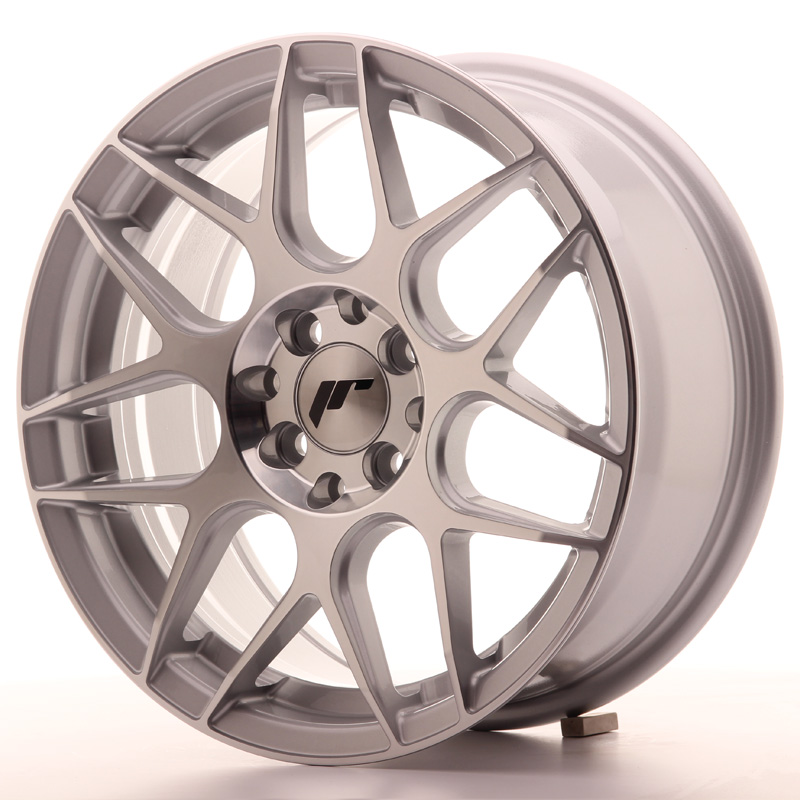Japan Racing JR18 16x7 ET35 4x100/114,3 Silver Mac