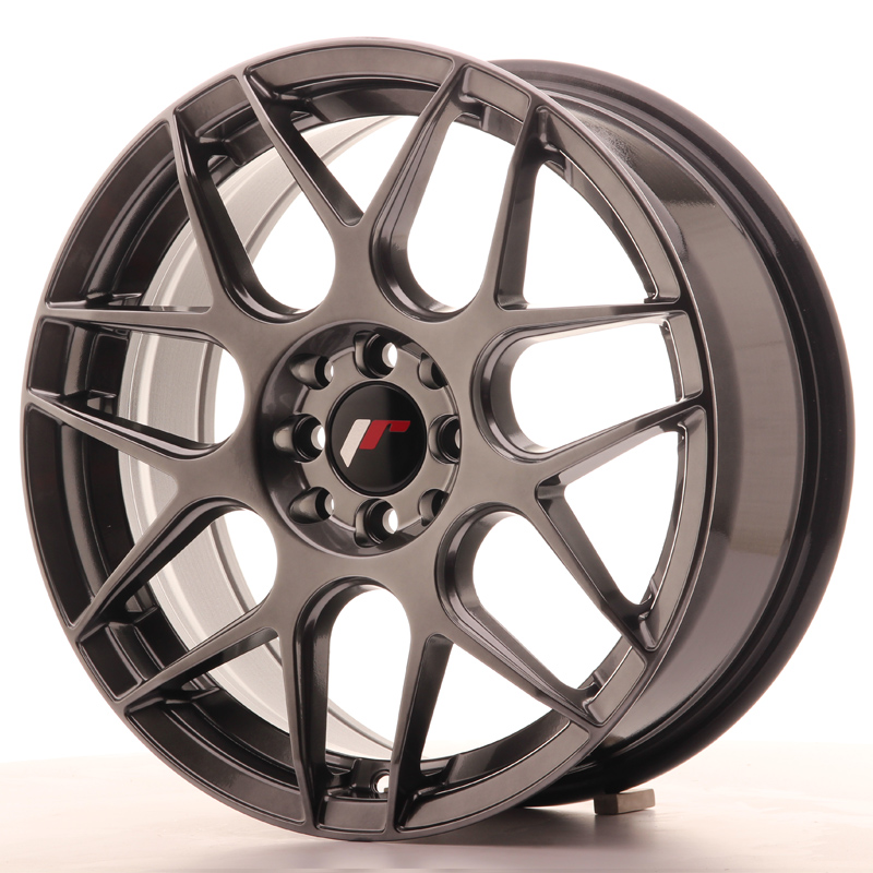 Japan Racing JR18 17x7 ET40 5x108/112 Hyper Black