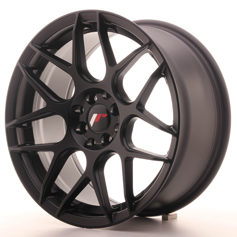 Japan Racing JR18 17x8 ET35 4x100/114 Matt Black