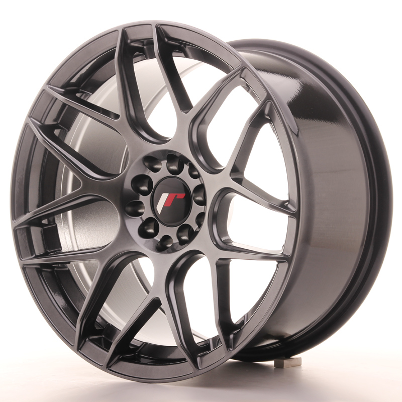 Japan Racing JR18 17x9 ET20 5x100/114 Hyper Black