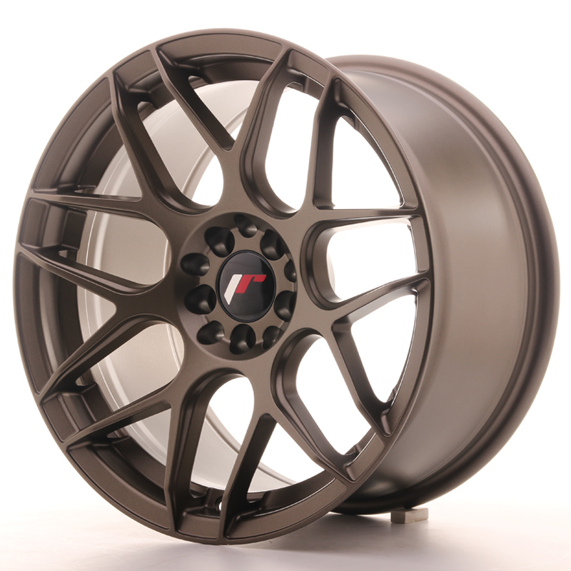 Japan Racing JR18 17x9 ET35 5x100/114 Matt Bronze