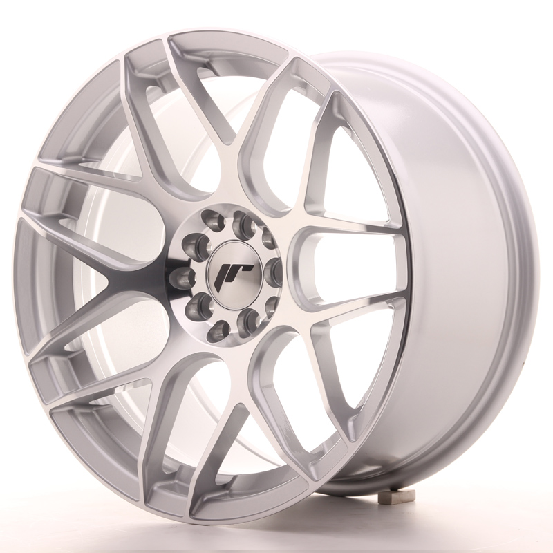 Japan Racing JR18 17x9 ET35 5x100/114 Silver Mach