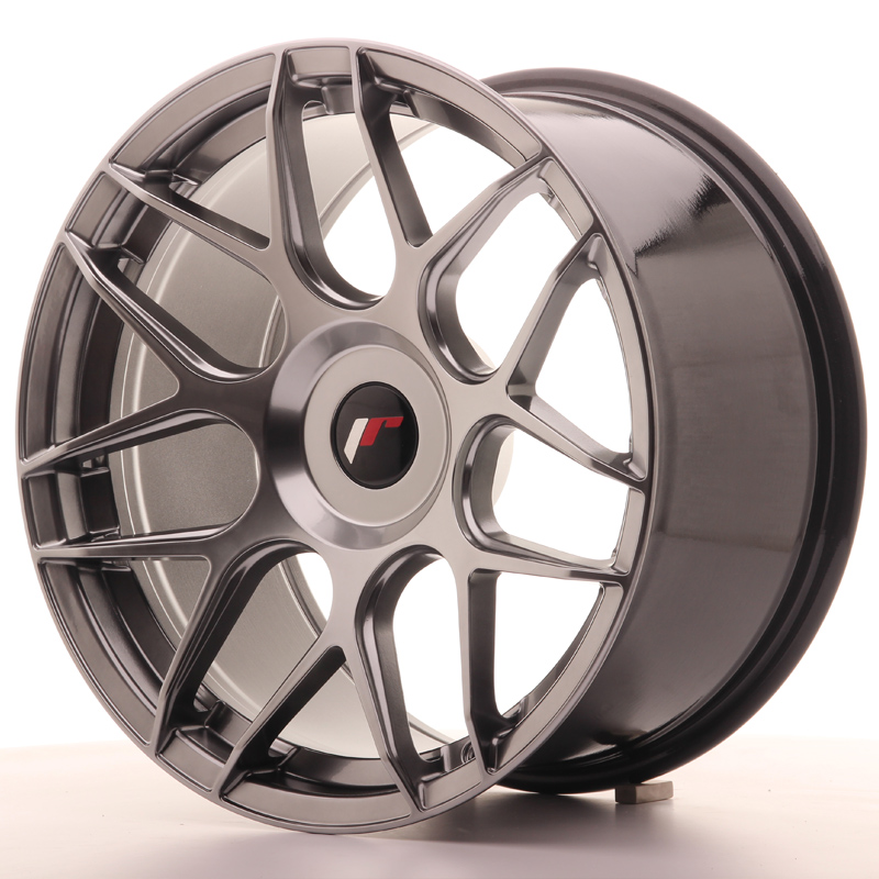 Japan Racing JR18 18x9,5 ET20-43 Blank Hyper Black