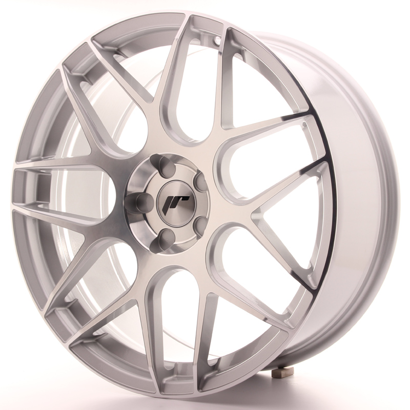 Japan Racing JR18 20x8,5 ET20-40 5H Blank SilverM