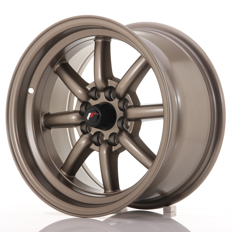 Japan Racing JR19 15x8 ET0 4x100/108 Matt Bronze