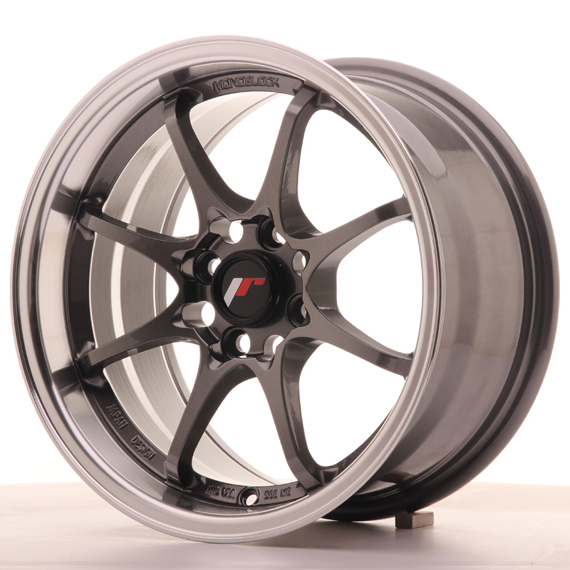 Japan Racing JR5 15x8 ET28 4x100 Gun Metal