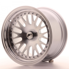 Japan Racing JR10 15x9 ET0-20 Blank Machined Sil