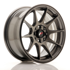 Japan Racing JR11 15x7 ET30 4x100/114 Hyper Gray<br/>