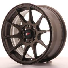 Japan Racing JR11 15x7 ET30 4x100/114 Matt Bronze