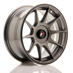 Japan Racing JR11 15x7 ET30 Blank Dark Hyper Gray<br/>