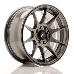 Japan Racing JR11 15x7 ET30 4x100/108 Hyper Gray<br/>
