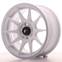 Japan Racing JR11 15x7 ET30 4x100/108 White