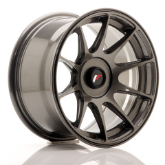 Japan Racing JR11 15x8 ET25 Blank Hyper Gray<br/>