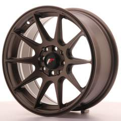 Japan Racing JR11 16x7 ET30 4x100/114 Matt Bronze