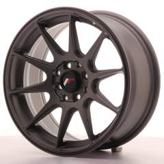 Japan Racing JR11 16x7 ET30 4x100/114 Matt Gun Met
