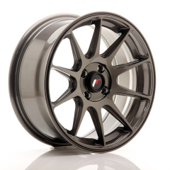 Japan Racing JR11 16x7 ET25 4x100 Hyper Gray<br/>