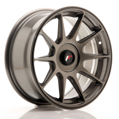 Japan Racing JR11 16x7 ET30 Blank Hyper Gray<br/>