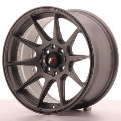 Japan Racing JR11 16x8 ET25 4x100/114 Matt Gun Met