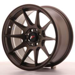 Japan Racing JR11 16x8 ET25 5x100/114 Matt Bronze
