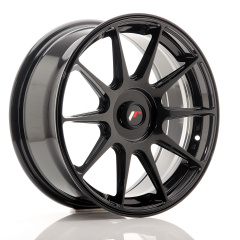 Japan Racing JR11 17x7,25 ET35-40 Blank Glossy Black