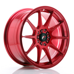 JR Wheels JR11 17x8,25 ET35 5x100/114,3 Platinum Red