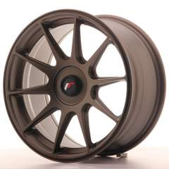 Japan Racing JR11 17x8,25 ET35 Blank Matt Brnz