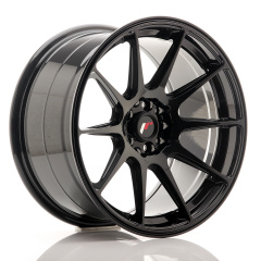 JR Wheels JR11 17x9 ET20 5x100/114 Glossy Black