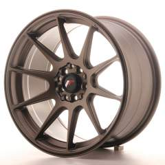 Japan Racing JR11 17x9 ET20 5x100/114 Matt Bronze