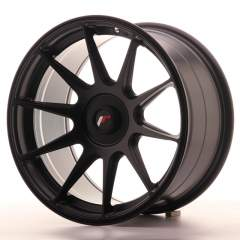 Japan Racing JR11 17x9 ET25-35 Blank Matt Black