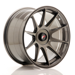 Japan Racing JR11 17x9 ET25-35 Blank Hyper Gray<br/>