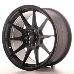 Japan Racing JR11 17x9 ET25 4x100/108 Matt Black