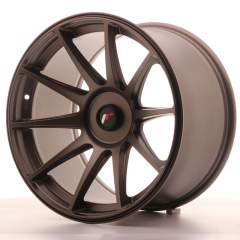 Japan Racing JR11 18x10,5 ET22 Blank Dark Bronze