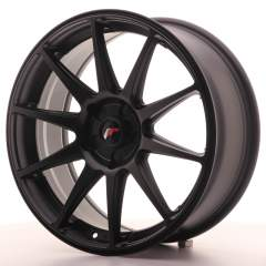 Japan Racing JR11 18x7,5 ET35-40 5H Blank Flat Bla