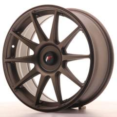 Japan Racing JR11 18x7,5 ET35-40 Blank Dark Bro