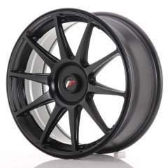 Japan Racing JR11 18x7,5 ET35-40 Blank Flat Black
