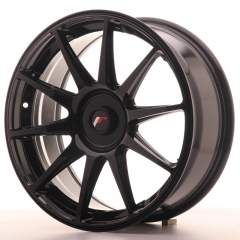 Japan Racing JR11 18x7,5 ET35-40 Blank Glossy Blac
