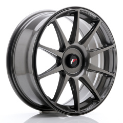 Japan Racing JR11 18x7,5 ET35-40 Blank Hyper Gray<br/>