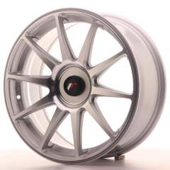 Japan Racing JR11 18x7,5 ET35-40 Blank Silver Mach