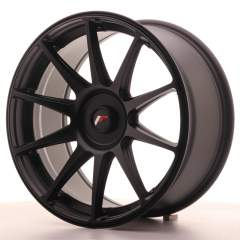 Japan Racing JR11 18x8,5 ET35-40 Blank Flat Black