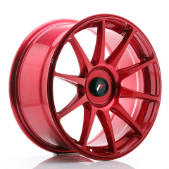 JR Wheels JR11 18x8,5 ET35-40 BLANK Platinum Red