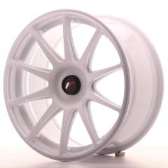Japan Racing JR11 18x8,5 ET35-40 Blank White