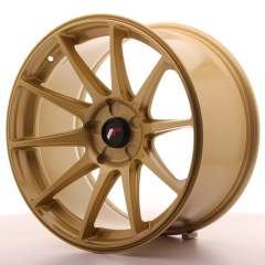 Japan Racing JR11 18x9,5 ET30 5H Blank Gold