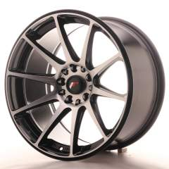 Japan Racing JR11 18x9,5 ET22 5x114/120 Black Mach