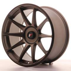 Japan Racing JR11 18x9,5 ET20-30 Blank Dark Bronz