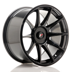 JR Wheels JR11 18x9,5 ET20-30 BLANK Glossy Black