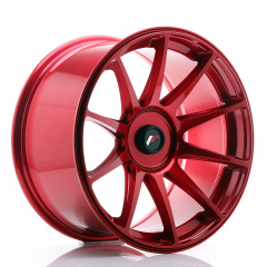 JR Wheels JR11 18x9,5 ET20-30 BLANK Platinum Red
