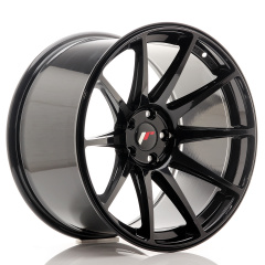 Japan Racing JR11 19x11 ET25 5x112 Glossy Black