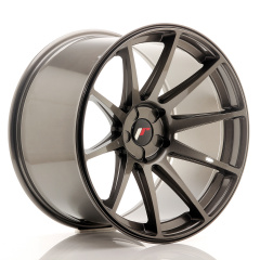 Japan Racing JR11 19x11 ET15-25 5H Blank Hyper Gray<br/>